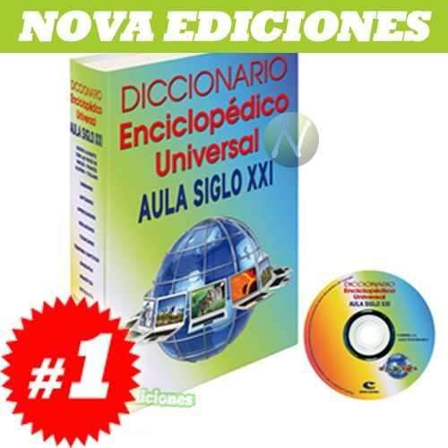 Vendo diccionario inciclopedico v.1 aula siglo xxi nuevo en caja $.200