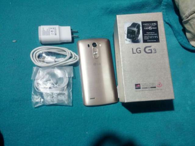 Lg g3 claro nuevo nuevo