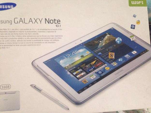 Vendo tablet sansung galaxy note 10.1 nueva