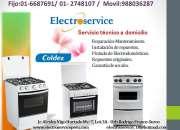 cocinas coldex//servicio técnico 6687691**