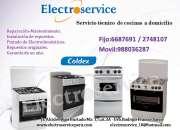 Servicio tecnico  autorizado en cocinas coldex