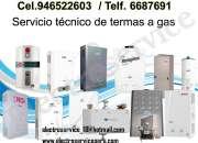 Servicio técnico termas* 01-2748107°electroservice°servicio