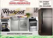 Servicio tecnico lavadora whirlpool domicilio 2743847 ?