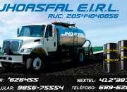 Fabricamos breas/ asfaltos de calidad