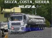 Excelentes asfaltos/emulsiones asf. envios directos a lima y provincias
