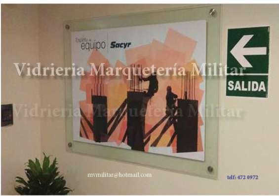 Cuadros de vidrio.marcos para firmas, vidrios en Lima - Otros ...