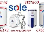 SERVICIO TECNICO TERMAS SOLE 6750837