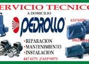 Servicio tecnico bombas de agua pedrollo 2888816