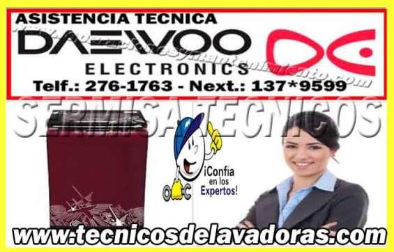 On line 2761763 servicio tecnico daewoo (( lavadoras -secadoras )) la molina