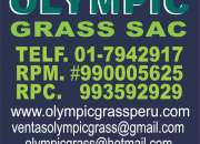 Grass sintético Jardín Olympic Grass Sac