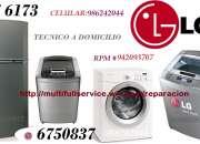 SERVICIO TECNICO LG LAVADORAS 4476173