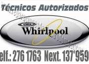 Servicio tecnico de lavadoras whirlpool 7378107