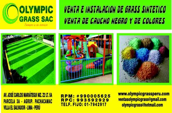 Juegos infantiles césped olympic