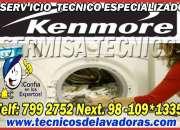 Servicio tecnico de lavadoras KENMORE ? 7992752