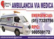 AMBULANCIAS VIA MEDICA