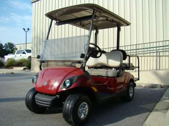 Carrito golf yamaha rojo 2009 $4,800