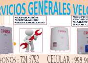 SERVICIO TECNICO DE TERMAS PEISA LIMA