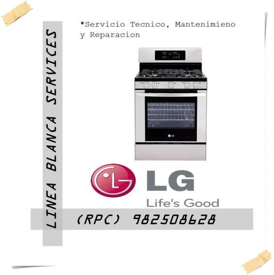 Lg servicio tecnico cocinas o estufas lg
