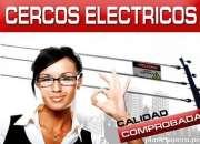 Intercomunicadores, cercos eléctricos, cámaras de seguridad, control de accesos