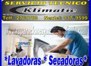 ''''''///servicio tecnico de lavadoras y secadoras  klimatic 7992752  san miguel ///