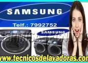 AYUDA TÉCNICA !!!  EN SECADORAS Y LAVADORAS  ''7992752 ''SAMSUNG --MAGDALENA DEL MAR