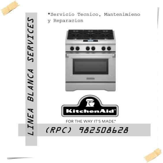 Servicio tecnico kitchenaid cocinas mantenimiento