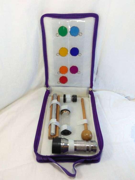Kit de cromoterapia para sanación