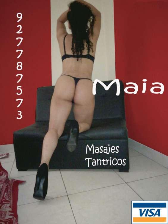 Maia, espectacular srta de hermoso cuerpo brinda masajes sumamente eróticos