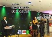 Orquesta Matrimonios en lima Orquesta La Trivia