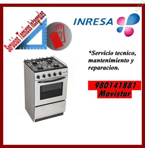 980141881 mantenimiento y reparacion para la marca inresa