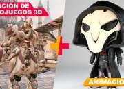 Curso de verano para niños 2018: creación de video juegos y animación 3d