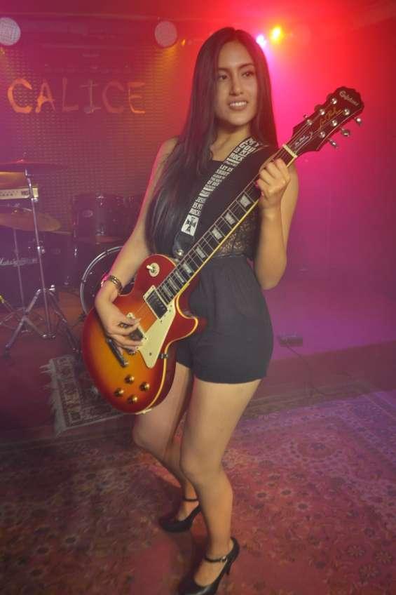 Clases de guitarra eléctrica calice