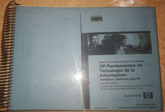 Fundamentos de tecnología de la información: hw y sw para pc
