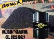 Asfalto en caliente 180º x bolquetada y metro cubico precio de fabrica - brimax peru.