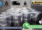 Emulsion asfaltica con polimeros, rotura lenta, telf. 01-7820233.