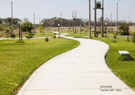 Amplios terrenos - boulevard park plaza, piura (precio m 2)
