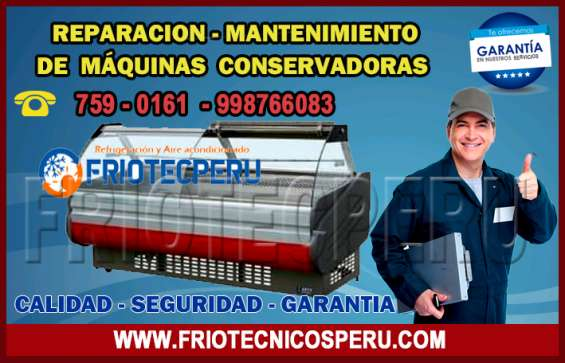 Servicio técnico ((conservadoras)) *7256381* mantenimiento correctivo en santa anita