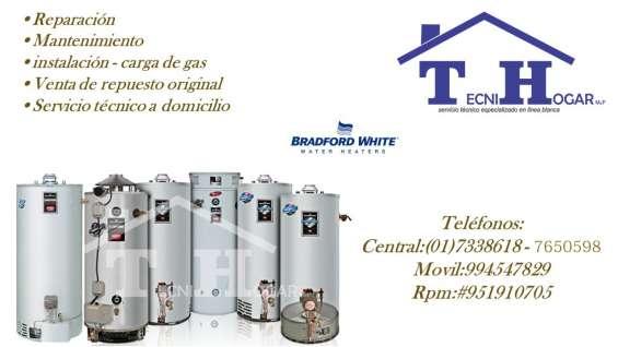 Servicio tecnico termotanques bradford white 7650598 en lima