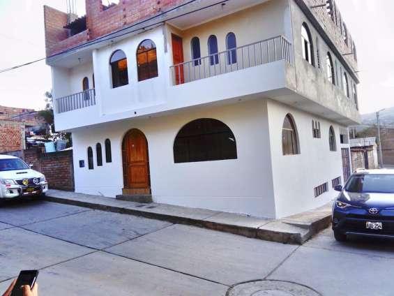 Se vende casa en huaraz
