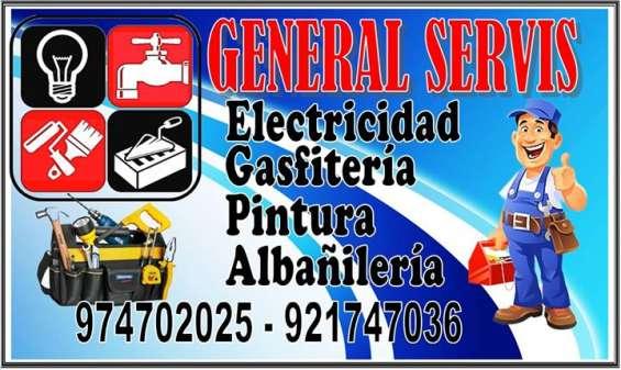 Electricista gasfitero